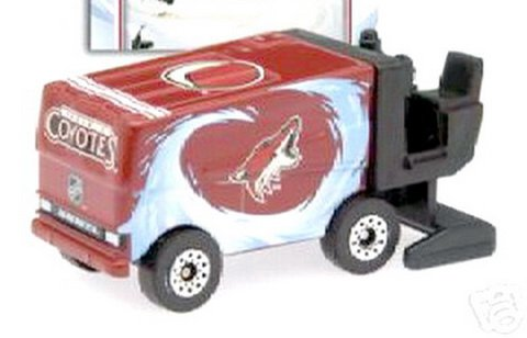 PHOENIX COYOTES Diecast Zamboni Collectible with Shane Doan Trading Card 2007-08 Upper Deck NHL Hockey