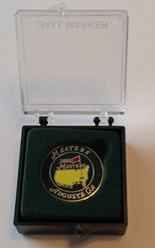 2008 Masters ball marker Augusta National golf tournament logo commemorative