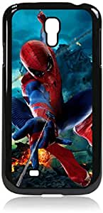 Zheng casespiderman drawing- Hard Black Plastic Snap - On Case-Galaxy s4 i9500 - Great Quality!