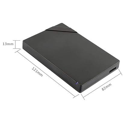 160GB//250GB//320GB//500GB//640GB//750GB//1TB//2TB Large Memory Mobile High-Speed Transmission USB3.0 Hard Drive QTT Hard Disk Color : White, Size : 1TB