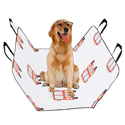 (XINGCHENSS Fashion Oxford Pet Car Seat Fireman Cartoon Rescue Warrior Hero Design Animation Childlike Waterproof Nonslip Canine Pet Dog Bed Hammock Convertible for Cars Trucks SUV)
