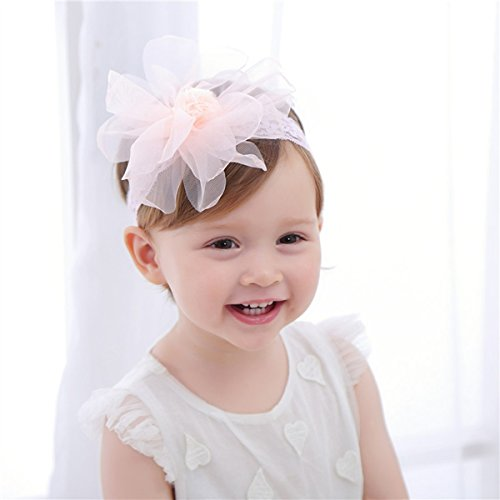 Cute Headband Accessories, 5Pcs Lovely Baby Girls Flower Headbands Photography Props by Wemi (Image #6)