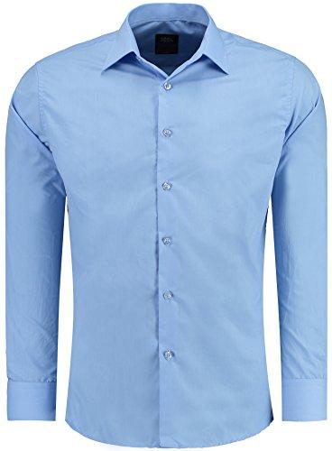 Corte 44 Xxl R Talla 205 S M Camisa Ajustado Blau Elegante Polo Estilo L Xl qwPA7t