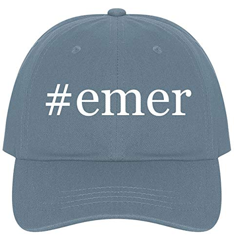 The Town Butler #emer - A Nice Comfortable Adjustable Hashtag Dad Hat Cap, Light -