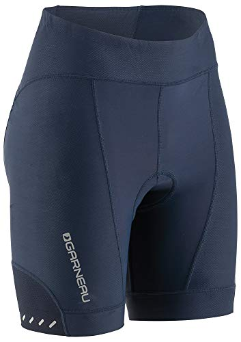 (Louis Garneau Women's Optimum 7 Bike Shorts, Dark Night,)