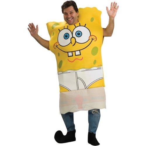 [Rubie's Costume Spongebob Squarepants Pants Dropping Tunic, Multicolored, One Size Costume] (Spongebob Halloween Costume)