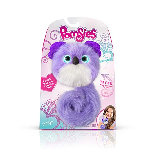 Pomsies Koala Plush Interactive Toys, Purple