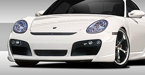 Duraflex Replacement for 2006-2012 Porsche Cayman 2005-2012 Porsche Boxster Eros Version 1 Air Ducts - 2 Piece ()