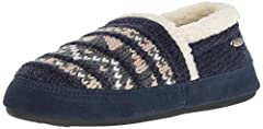 Clean lines. Cozy textiles. Inspired by Nordic colors and shapes, this classic ACORN moccasin slipper has been reinvented one distinguished thread at a time. This supremely soft slipper is crafted with hand-stitched details, knit uppers, all ...