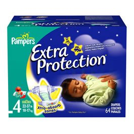 Pampers Extra Protection Diapers Size 4 (64 count)