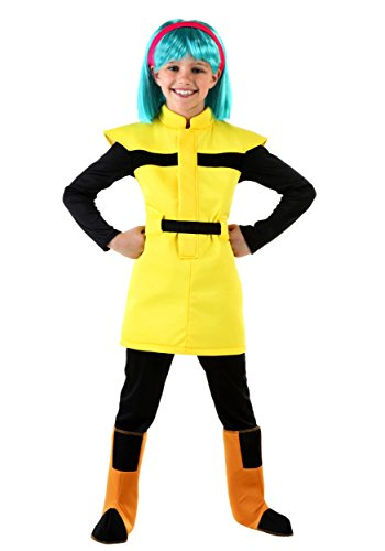 [Fun Costumes girls Big Girls' Dragon Ball Z Bulma Costume Large] (Bulma Costume)