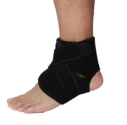 HDWY Ankle Sports Supplies Rubber Nylon Protective Gear Winding Pressure Ankle Bandage Ankle Exercise Protection Ankle by HDWY