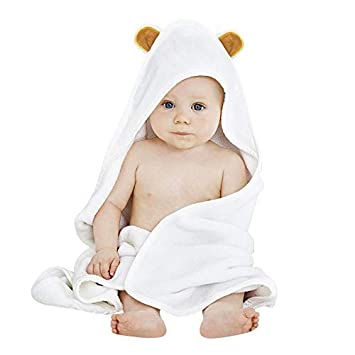 6947478f49cd Amazon.com   Baby Hooded Towel by Accmor
