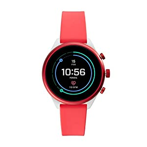 Fossil Sport Smartwatch 41mm Red – FTW6027