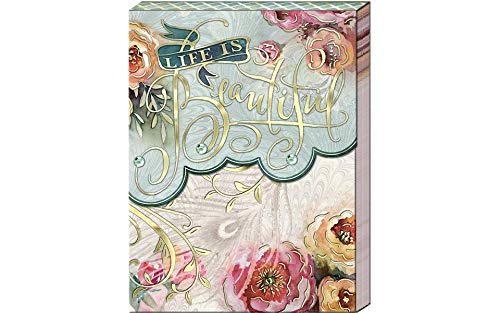 Punch Studio Pocket Note Pads (Life is Beautiful)