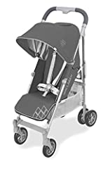 The Techno arc sets the standard and has everything you need in an umbrella fold stroller. SAFETY- the aircraft grade aluminum frame includes best-in-class features built with Maclaren's Global Safety Standards. MANEUVERABILITY- a super light...