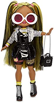 L.O.L. Surprise! O.M.G. Alt Grrrl Fashion Doll with 20 Surprises,Multicolor