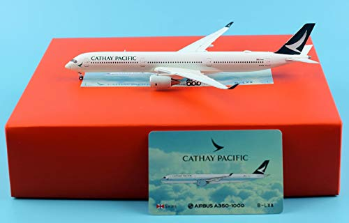 JC Wings 1:400 Cathay Pacific Airline Airbus A350-1000 Diecast Model Plane ()