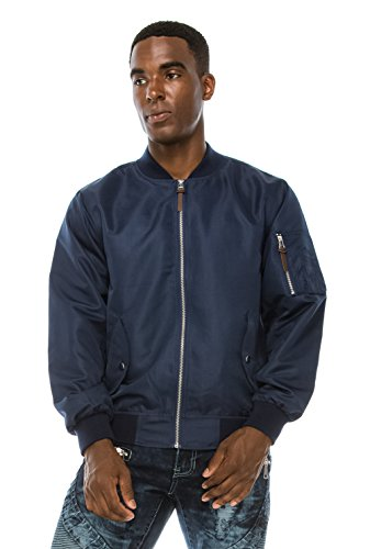 Navy Blue Flight Jacket - 4