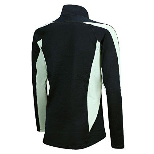 shirt con o neri T shirt Pro Airtracks lunga termica trattamento Winter funzionale manica in traspiranti uomo riflettori Donna T pile di qwBZAq