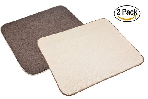 Sinland Microfiber Dish Drying Mats for Kitchen Countertop D