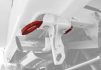 牽引フック・フロント用 (完全穴空け不要タイプ) ジムニーJB23 純正バンパー用フロント牽引フック (限定車装着アンダーガーニッシュ対応仕様) 【今だけ送料無料】 (けん引フック)