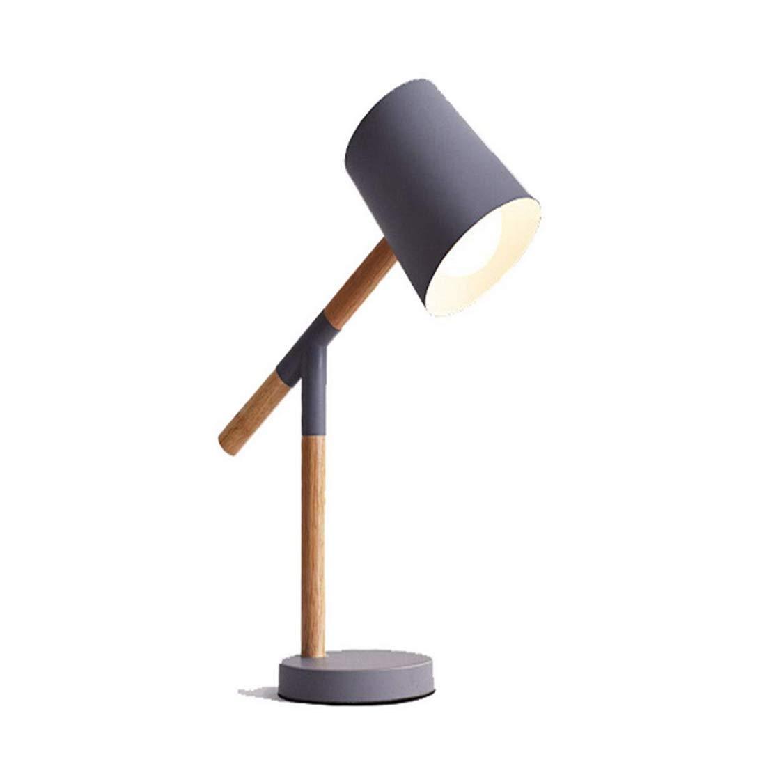 Lámpara de mesa de metal simple de Chandeliermodern, 6 colores ...
