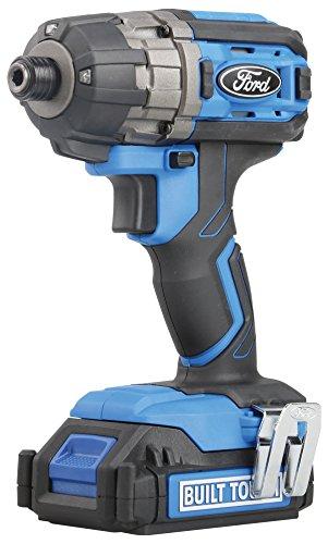 Ford Tools fmcf18-0318V Taladro Atornillador de Impacto, 1Paquete