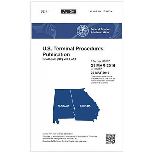 FAA IFR Terminal Procedures Bound Southeast (SE) Vol 4 of 4 (Always Current Edition)