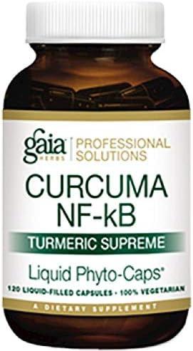 Gaia Herbs Professional Solutions Curcuma NF-kb Turmeric Supreme – Tumeric Curcumin Supplement – Turmeric Capsules – Curcumin Supplements – Anti Inflammatory Supplement – 120 lvcaps