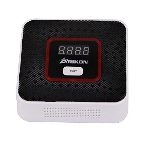 ARIKON Plug-In Combustible Gas Detector Alarm Sensor with Voice Warning,Digital (Propane Gas Detector)