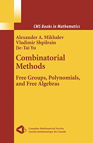 Combinatorial Methods: Free Groups, Polynomials, and Free Algebras (CMS Books in Mathematics)