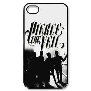 Customize Pierce the Veil Iphone 4/4S Case Hard Custom Case for Apple IPhone 4/4S