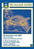 img - for Rethinking the Qdr the Case for a Persistent Defense Review(Paperback) - 2009 Edition book / textbook / text book