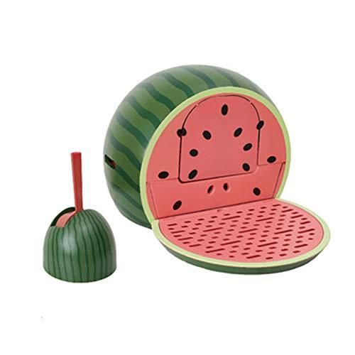 (LOVEPET Watermelon Cat Toilet Fully Enclosed Lazy Cat Litter Box Deodorant, Splash, Pet Potty)