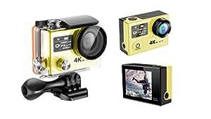 H8 Pro Sports Action Camera 4K 30FPS Ambarella A12S75 CPU SONY IMX078 Sensor Outdoor Waterproof Sport Helmet Cam 2.4ghz Remote Control