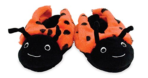 Rich Frog Lady Bug Funky Feet Slippers For Children, Toddler Size 7