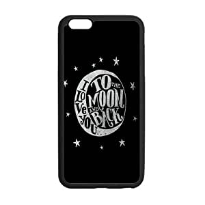 the Case Shop- I Love You To The Moon And Back TPU Rubber Hard Back Case Cover Skin for iPhone 6 Plus 5.5 Inch ,i6pxq-18