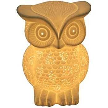 Streamline Streambul630 Owl Porcelain Lamp Table Lamps