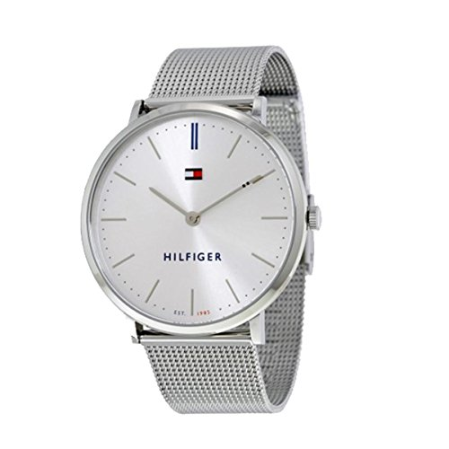 's 'Sophisticated Sport' Quartz Stainless Steel Watch, Color Silver-Toned (Model: 1781690) (Tommy Hilfiger Water Resistant Bracelet)