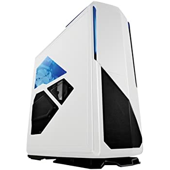 NZXT Phantom 820 Full Tower Computer Case with RGB Color Changing Lights and Fan Control, White (CA-PH820-W1)
