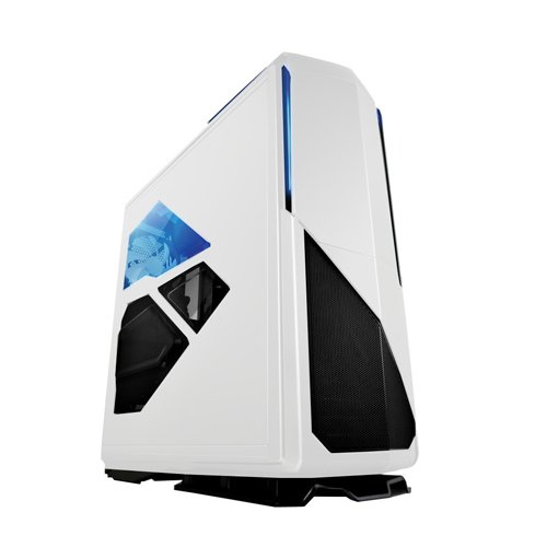 NZXT Phantom 820 Full Tower Computer Case with RGB Color Changing Lights and Fan Control, White (CA-PH820-W1) (Ultra Full Tower Computer Case)