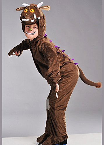 Gruffalo Costumes - Childrens Size The Gruffalo Fancy Dress Costume Large 8-10 years by Delights Direct