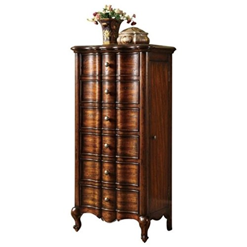 (Hooker Furniture 500-50-757 French Jewelry Armoire, Mahogany Veneer)