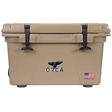 Orca Coolers ORCT026 Insulated 26 QT Quart Tan Ice Chest Cooler