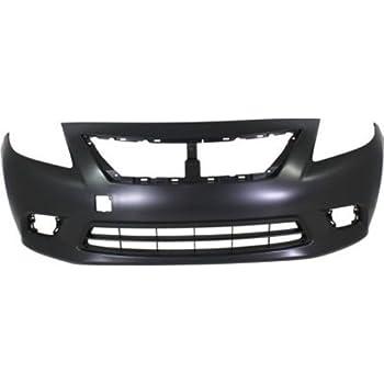 Amazon com: Crash Parts Plus Primed Front Bumper Cover