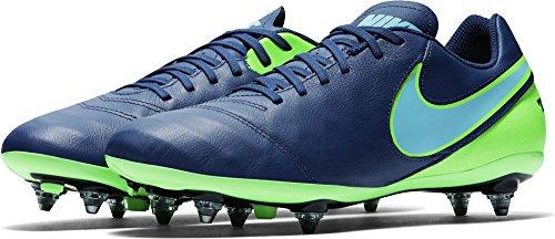 Nike 819715-443, Botas de Fútbol para Hombre Azul (Coastal Blue / Polarized Blue-Rage Green)