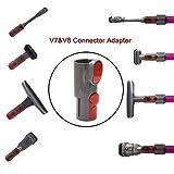 Oyster-Clean Grooming Dog Pet Brush Tool Kit For Dyson Groom Animal Allergy Vacuum Cleaner - MS01 (Adapter for V8/V7/V10)