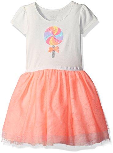 Buy dress with a flounce skirt - 5
