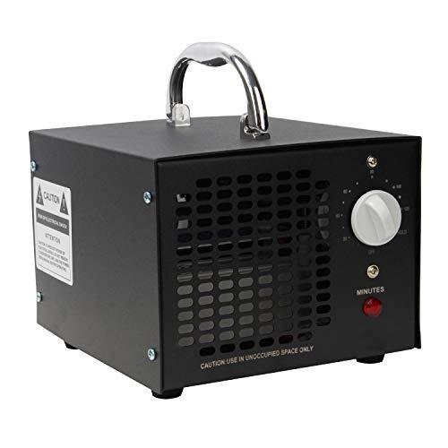 🥇 vingo 10000mg / h generador de ozono purificador de Aire de ozono con Temporizador para desinfección de esterilizadores para Mascotas en la Sala de automóviles